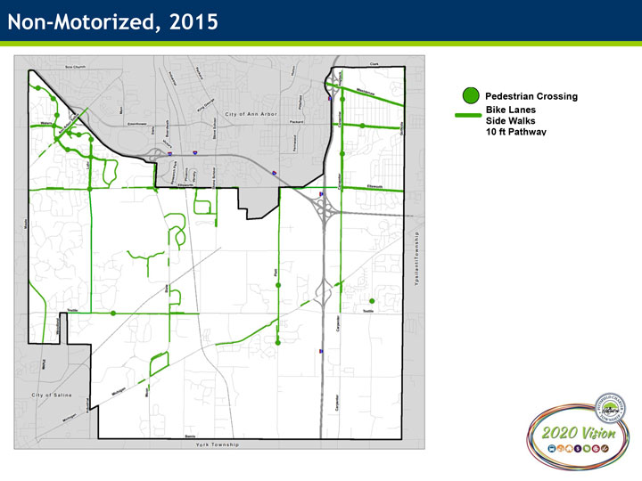 2015 Non-Motorized Infrastructure Map